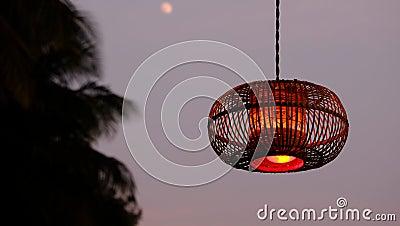 Brown Pendant Lamp During Nighttime Free Public Domain Cc0 Image