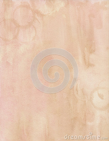 Brown and pink water color soft grungy background