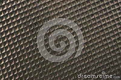 Brown plastic pattern