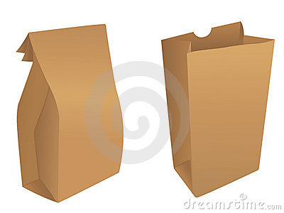 Brown product / paper bags
