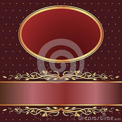 Brown and red background