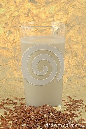 Brown rice milk.