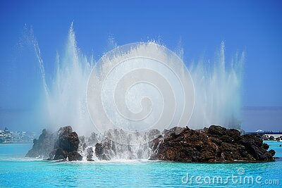 Brown Rock Island On Sea Water Under Blue Sky During Daytime Free Public Domain Cc0 Image