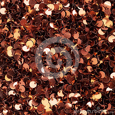 Brown sequins texture