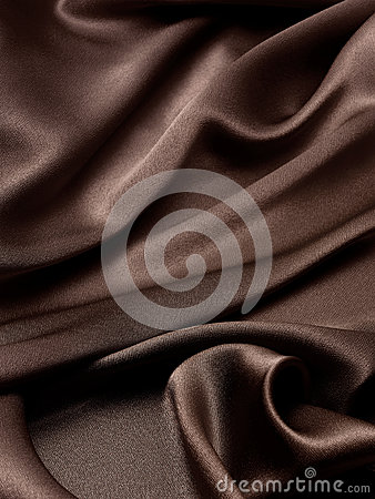 Brown silk background
