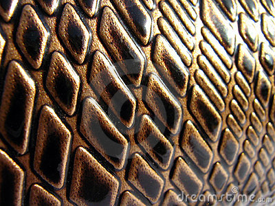 Brown Snake Luxury Leather