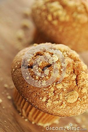 Brown sugar muffin