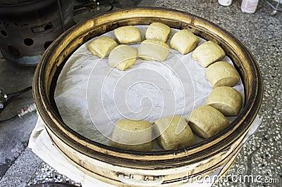 Brown Sugar Steamed Buns