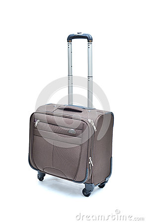 Free Brown Suitcase Royalty Free Stock Images - 78201159