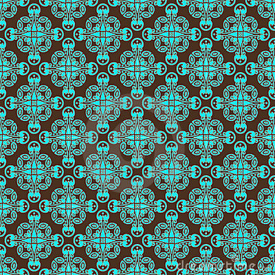 Teal Pattern Clipart