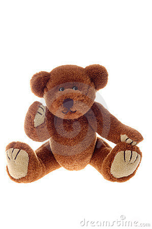 Brown teddy bear toy