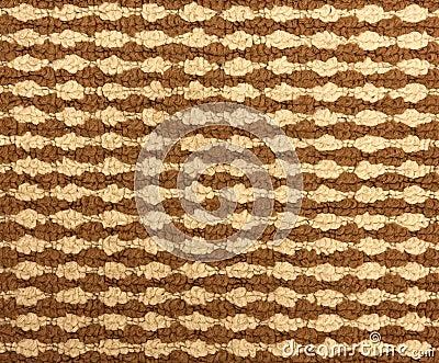 Brown texture of wool