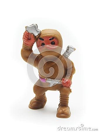 Brown Toy Ninja