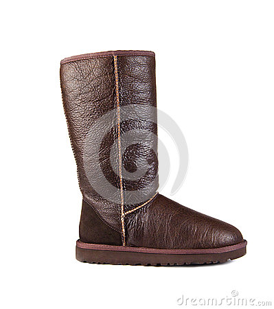 Brown ugg boot