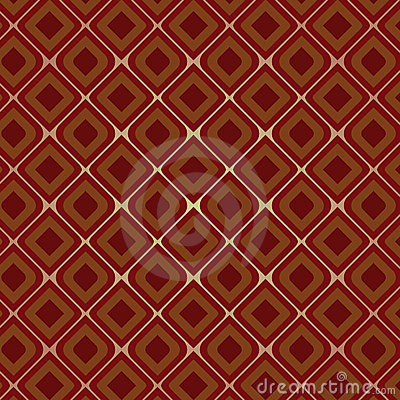 Brown Vintage Seamless Pattern