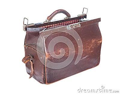 Brown vintage valise - Valise carton vintage ...