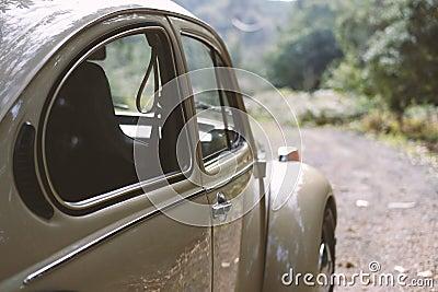 Brown Volkswagen Beetle Free Public Domain Cc0 Image