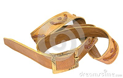 Brown waistband