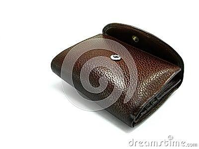 Brown wallet 2