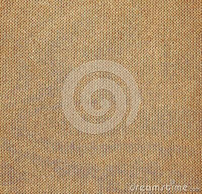 Brown weave material