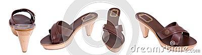 Brown women sandal