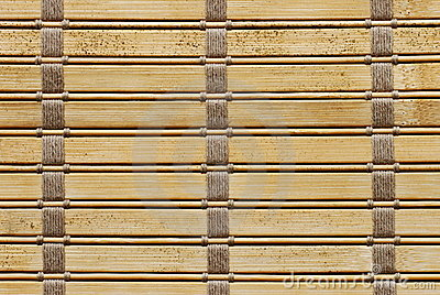 Brown woven wood background