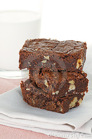 Brownies With Milk
