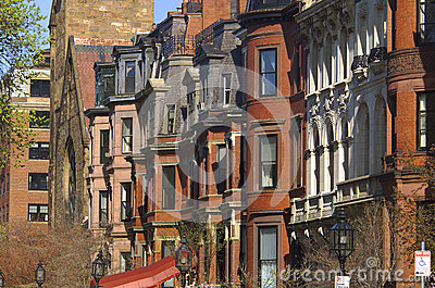 Brownstone townhouses