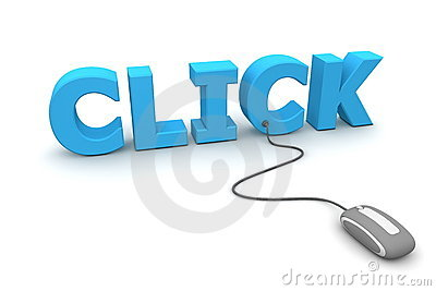 Browse and Click - Grey Mouse