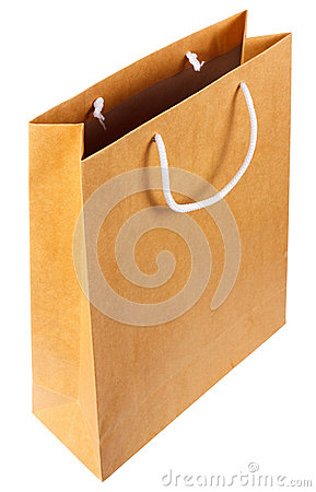 Browse recycled paper bag