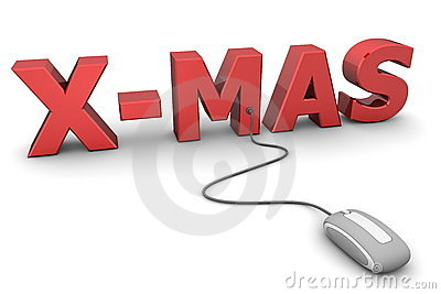 Browse Red X-Mas - Grey Mouse