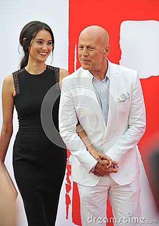 Free Bruce Willis & Emma Heming Royalty Free Stock Photos - 46151258