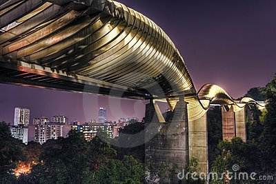 Brug in Singapore: De Golven van Henderson