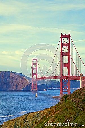 Brug van de Poort van San Francisco de Gouden