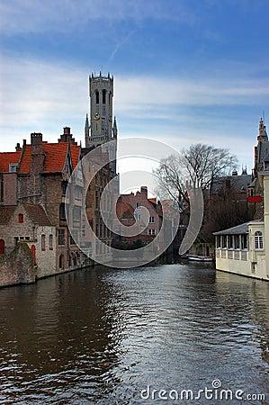 Bruges, brugge, the canal.