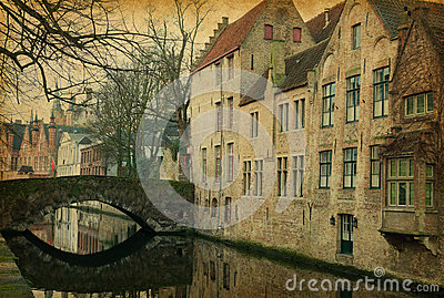Bruges canals.