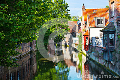 Bruges, medieval city in Belgium