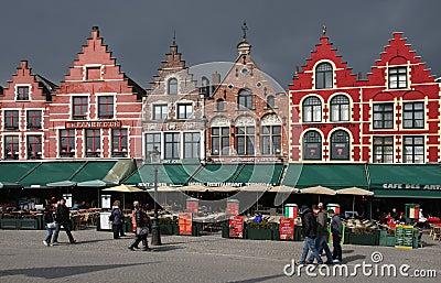 Bruges , Belgium Editorial Photo