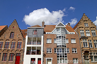 Bruges Old and New Homes