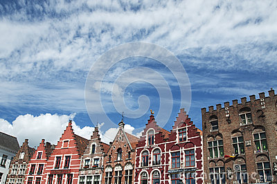 Brugge buildings Editorial Photography