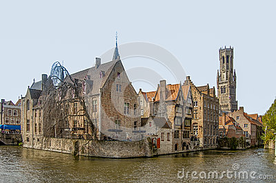 Brugge Editorial Stock Photo