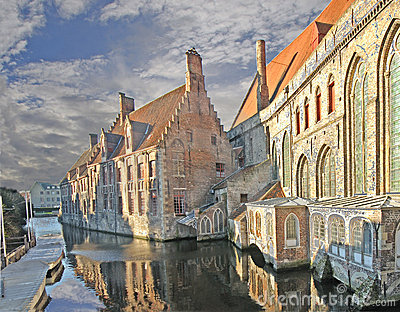 Brugge - Old Hospital and Canal