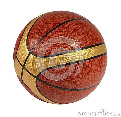 Bruine basketbalbal