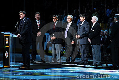 Bruins Legends Editorial Stock Image