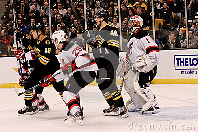 Bruins v. Devils ice hockey Editorial Photography