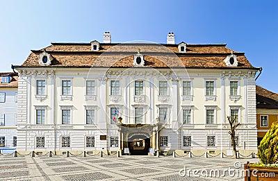 Brukenthal palace in Sibiu