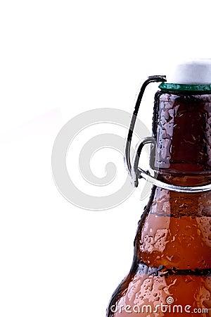 Brun tysk för ölflaska