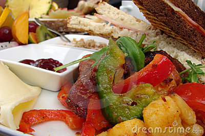 Brunch Fotografia Stock - Immagine: 15499520
