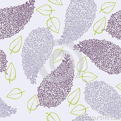 Brunch de la flor de la lila