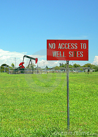 Brunei. No Access to Oil Well